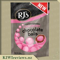 RJ's Candy Coated Strawberry Chocolate Balls