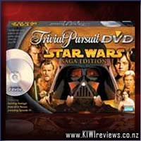 Trivial Pursuit - Star Wars Saga Edition DVD Game