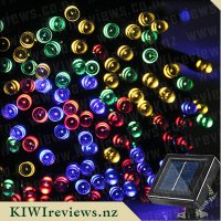 Solar Powered 20m 200-LED String Fairy Light