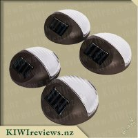 Round LED Solar Fence Lights