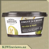 Barker's Fruit For Cheese - Feijoa & Pear