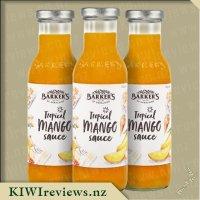 Barker's Tropical Mango Sauce