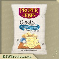 Proper Crisps - Organic Potatoes with Marlborough Sea Salt