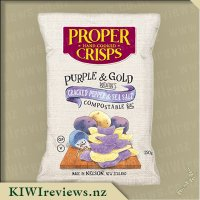Proper Crisps - Purple & Gold Potatoes with Cracked Pepper & Sea Salt