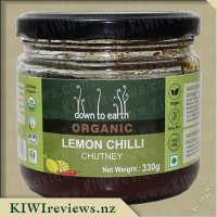 Down to Earth Organic Chutney - Lemon Chilli
