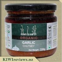 Down to Earth Organic Chutney - Garlic