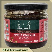 Down to Earth Organic Chutney - Apple Walnut
