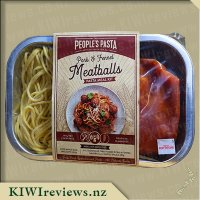 The People's Pasta - Pork & Fennel Meatballs