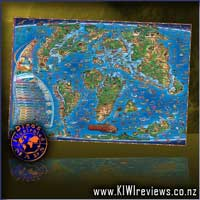 Children's Map of the Prehistoric World