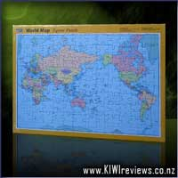 World map 1000 piece jigsaw puzzle product reviews unbiased nz rating 96 world map 96 piece jigsaw puzzle gumiabroncs Image collections