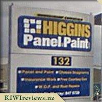 Higgins Panel & Paint Ltd product reviews : Unbiased NZ